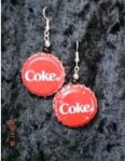 Coke Earrings